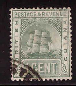 British Guiana Scott 133 Used  ship stamp
