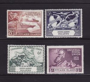Pitcairn Islands 13-16 Set MNH UPU (B)