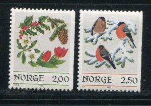 Norway #871-2 MNH