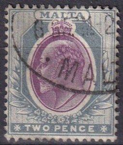 Malta #23 F-VF Used CV $7.00 (Z1642)