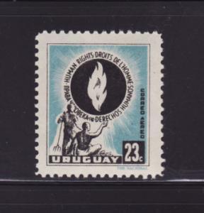 Uruguay C179 MNH Human Rights (B)