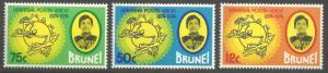 BRUNEI SCOTT 216-219