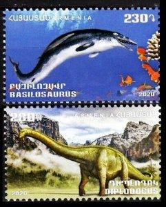 2020 Armenia 2v Dinosaurs