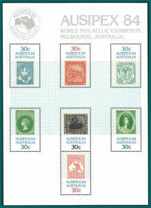 Australia 1984 Ausipex, MS MNH 926,SGMS945
