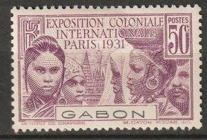 Gabon 1931 Sc 121 MLH*