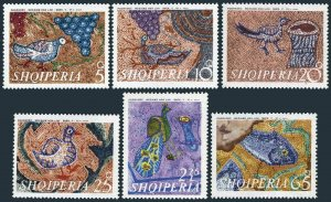 Albania 1301-1306,MNH.Michel 1429-1434. Mosaics 5-6th Century,1970.Pogrades.