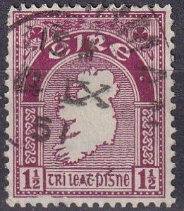 Ireland #108  F-VF Used (V4737)