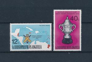 [58136] St. Christopher Nevis Anguilla 1976 Cricket MNH
