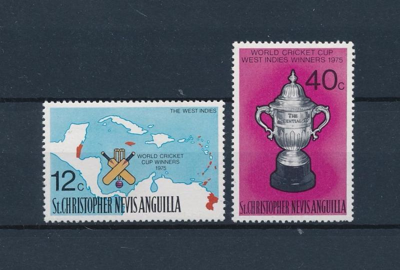 [58136] St. Christopher Nevis Anguilla 1976 Cricket MNH