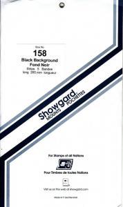 SHOWGARD BLACK MOUNTS 265/158 (5) RETAIL PRICE $14.50