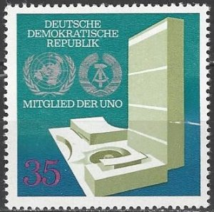 Germany DDR 1492   MNH  Admission to United Nations