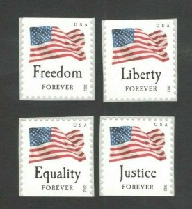 4641-4644 Four Flags Set Of 4 Mint/nh Free Shipping (A-390)