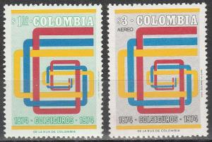 Colombia #823, C610    MNH   (K1608)