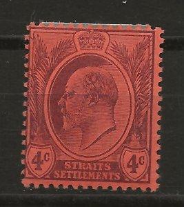 Straits Settlements 107 SG 125 MH F/VF 1903 SCV $17.50 (jr)