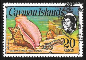 [7087] Cayman Islands # 341 Used