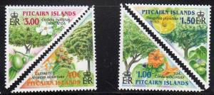 Pitcairn Islands 567-70 - Mint-NH - Trees (2002) (cv $9.50)