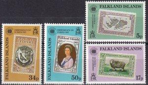 Falkland Islands #371-4 MNH (Z8275)