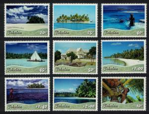 Tokelau Fishing Sailing Diving Scenic Definitives 9v SG#429-437