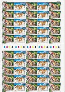 Christmas Island: 2016 $1 Robber Crabs full sheet of 50 MNH**
