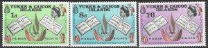 Turks & Caicos 175-7  MNH   Human Rights Year