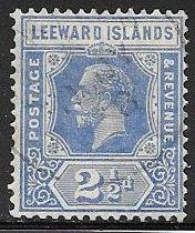 Leeward Islands 70 Used - George V