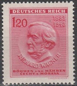 Czechoslovakia Bohemia & Moravia #86  MNH