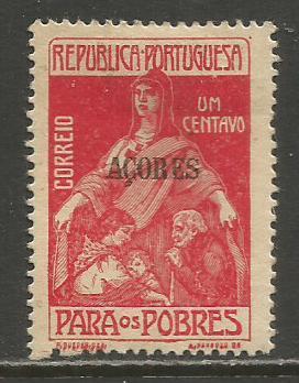 Azores   #RA3  MHR  (1915)  c.v. $0.65