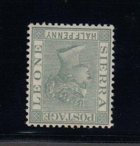 Sierra Leone, SG 27w, MLH Watermark Inverted variety