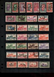 Tunisia  mint & used lot of 31