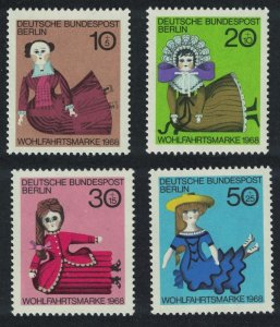 Berlin Dolls 19th Century 4v SG#B316-B319