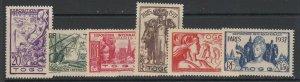 Togo (French), Scott 258-263 (Yvert 165-170), MNH