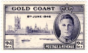 Gold Coast Scott 128-129 (1946: Peace Issue)