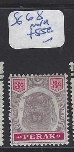 MALAYA PERAK (P1409B)  3C   TIGER SG 68   MNH