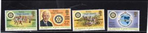 British Virgin Island  Anniv of Rotary MNH