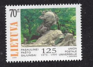 Lithuania   #635 1999  MNH  UPU
