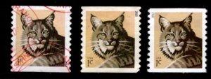 #4672, 4672a, 4802 Bobcat set/3 (Off Paper) - Used