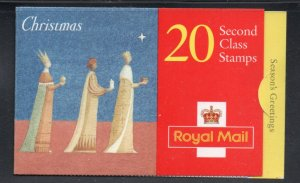 Great Britain Sc  1708a 1996 Christmas 2nd stamp booklet mint NH
