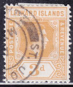 Leeward Islands 109 USED 1942 King George VI