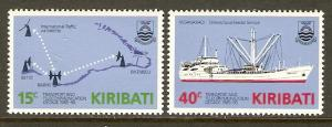 Kiribati #468-9 NH Transport & Telecom