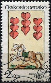 Czechoslovakia; 1984: Sc. # 2522: O/Used Single Stamp