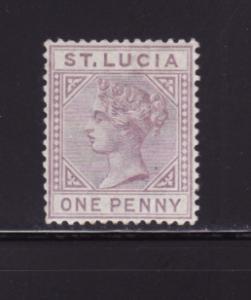St Lucia 29a MH Queen Victoria