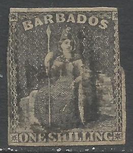 BARBADOS 9 VFU Z4763