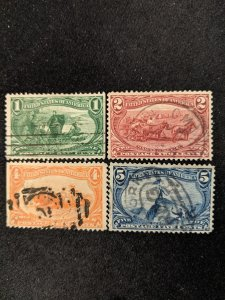 U.S. 285-8 F-VF, CV $62.25