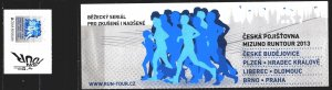 Czech Republic. 2013. booklet. Running, sport. MNH.