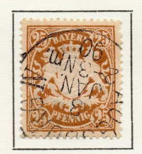 Bayern Bavaria 1888 Early Issue Fine Used 25pf. NW-120733