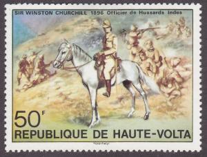 Burkina Faso 346 Sir Winston Churchill 1975