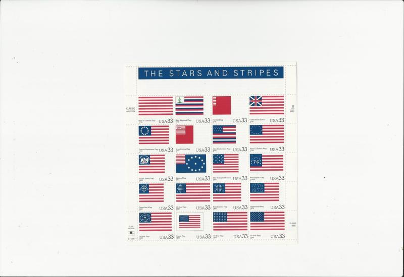 Stars and Stripes Scott #3403