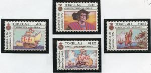 TOKELAU SCOTT#182/85     MINT NH  AS SHOWN