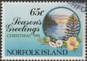 Norfolk Island, #512 Used,  From 1991