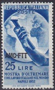 Italy Trieste #148 MNH CV $4.00   (Z7001)
